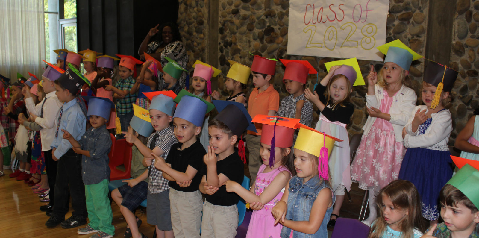 discovery kids preschool graduation