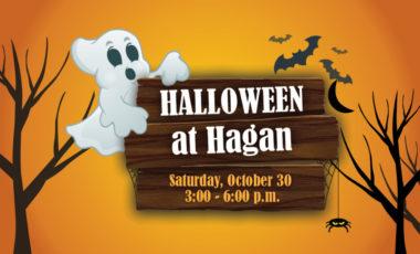 Halloween at Hagan Flyer