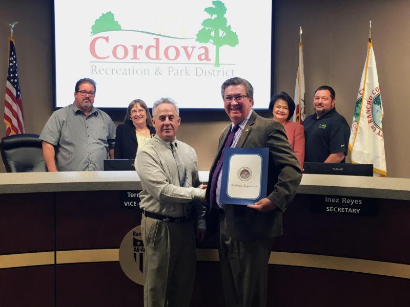 CA State Legislature Recognition 2016