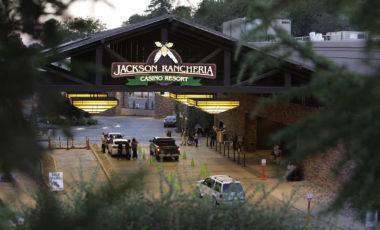 Jackson Rancheria Casino entry way